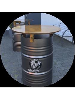 Barrel-Table / Fass-Stehtisch