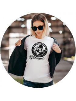 Damen / Style-T-Shirt / Weiß