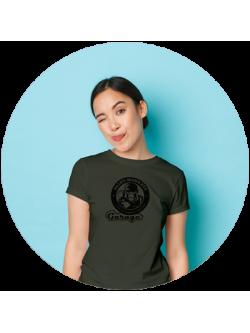 Damen / Style-T-Shirt / Olive