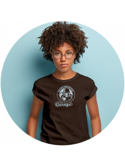 Girls / Style-T-Shirt / Brown